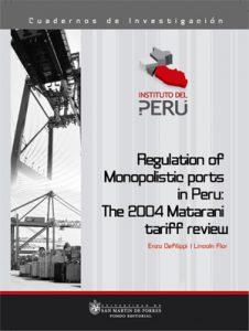 Regulation of monopolistic ports Perú