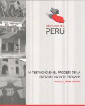 Mi testimonio en el proceso de la reforma agraria peruana 1
