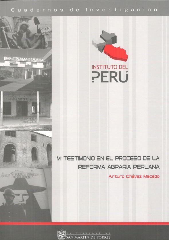 mi testimonio en el proceso de la reforma agraria peruana