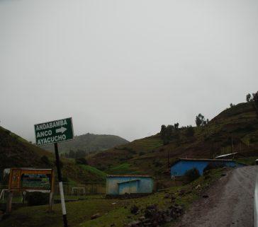 Camino rural en Acobamba