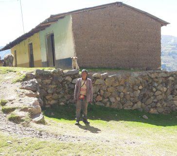 Comunero antiguo en la comunidad de Unión Ambo-Mayo 2018