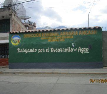 Coordinando acciones para el Trabajo de Campo con la Dirección Regional Agraria de Ancash -AA de Huaylas