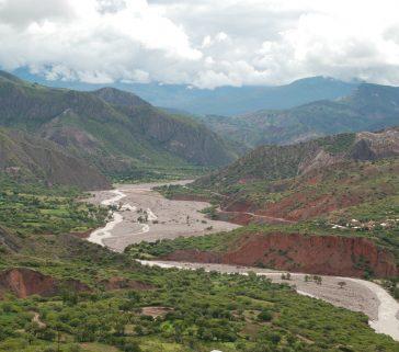 Límite entre la Provincia de Acobamba y la Provincia de Huanta(Ayacucho)