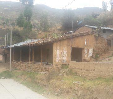 Ex casa hacienda conservada en la comunidad campesina de Huari-Mayo 2018
