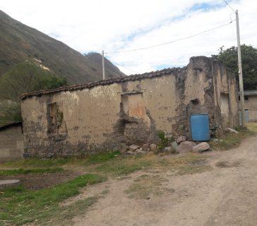 Ex casa hacienda la Unión antes Ambo en deterioro-Mayo 2018