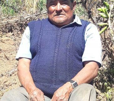 Expresidente de la empresa comunal de Pararani-Faustino Pardo Conozco-Junio 2018