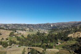 Paisaje rural del distrito de la Encañada