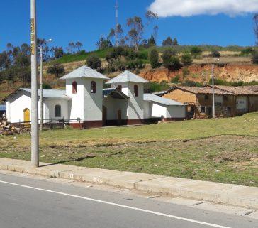 Iglesia de la municipalidad del centro poblado de Sotapa-Junio 2018