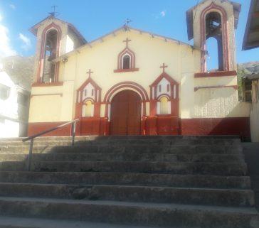 Iglesia del distrito de Huancarama-Junio 2018