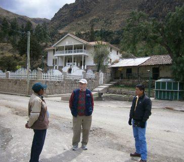 En la comunidad de Ocopa, Lircay