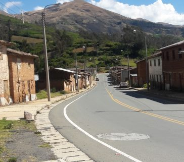 MCP de Sotapa al borde de la carretera Andahuaylas-Abancay-Junio 2018
