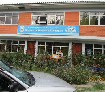 Municipalidad Provincial de Huaylas - Caráz - Entrevista a la Gerencia de Desarrollo Económico