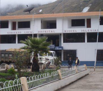 """Municipalidad del distrito """"Miguel Iglesias"""""""