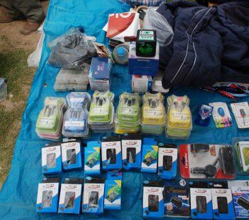 Feria de Pomacancha, venta de equipos electrónicos