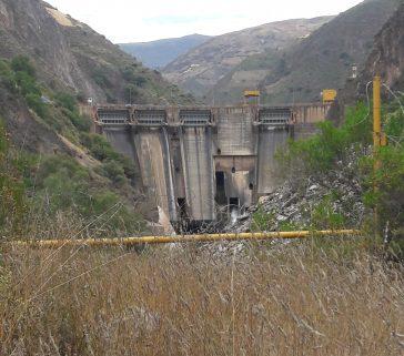 Presa de Tablachaca de la Central Hidroeléctrica del Mantaro-Mayo 2018