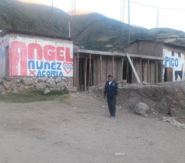 Presidente de la comunidad campesina de Yacuy-Mayo 2018