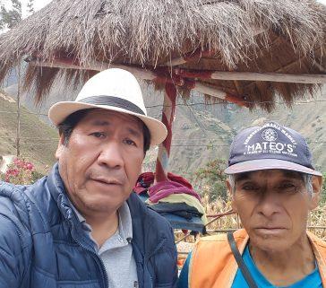 Presidente de la comunidad de Huari-Emilio Guineda Machuca-Mayo 2018