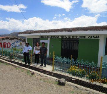 Proyecto R A - Carhuaz Comunidad Campesina Tres de Octubre - Zanja- entrevista a comuneros