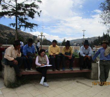 Proyecto R A - Carhuaz-Marcará-Entrevista a comuneros de la Comunidad Campesina Vicos