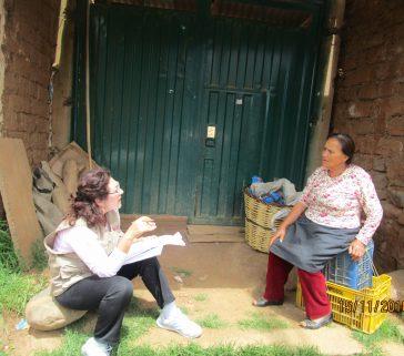 Proyecto R A - Carhuaz-Marcará-Entrevista a pobladora de la Comunidad Campesina Siete Imperios