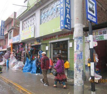 Proyecto R A - Huaráz -Tienda Agrovet de la Comunidad Camepsina San Miguel de Utcuyacu