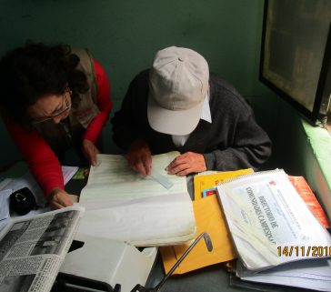 Proyecto R A - Trabajo de campo - Entrevista al señor Jose Cerdano - ex trabajador de Sinamos (Minag)