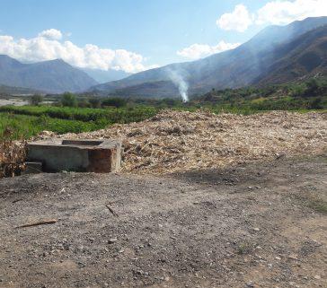 Bagazo en Callebamba-Junio 2018