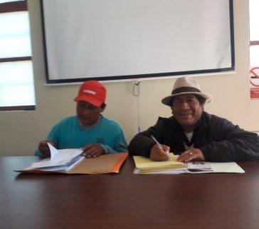 Entrevista al Presidente de la Cc.Cc SJB Callebamba-Kender Luis Gomez- Junio 2018
