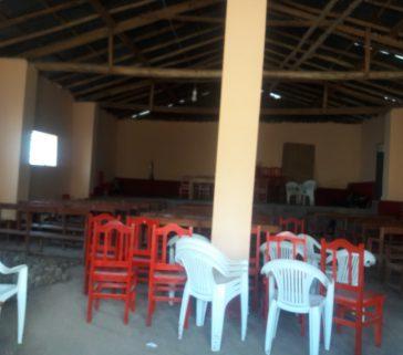 Interiores del local comunal Mariscal Cáceres-Junio 2018