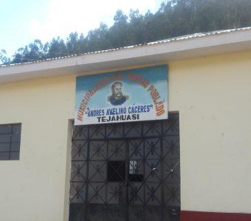 Local de la MCP de Mariscal Cáceres-Junio 2018