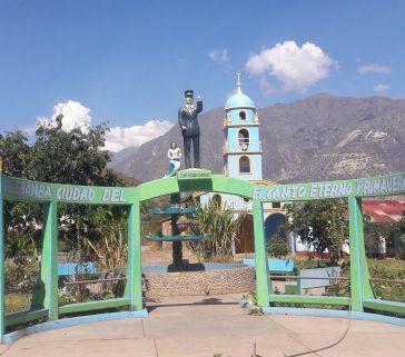 Monumento a Juan Velasco Alvarado-Junio 2018
