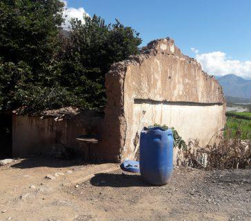Muros de la ex Hacienda de Callebamba-Junio 2018