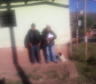 Presidente de la comunidad de San Martín(Parcialidad de Toxama)-Ever Pedroza Carrasco-Junio 2018